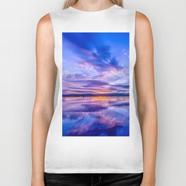 Scottish Sunset Biker Tank