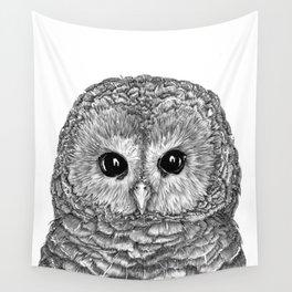 Tiny Owl Wall Tapestry