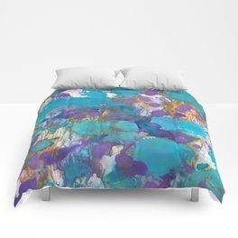 Blue Blossom Comforters