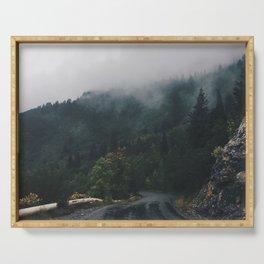 Mountain Rain | Cascade Supply Co. Serving Tray