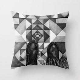 Art Beneath Our Feet - Berlin Throw Pillow