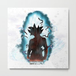 Son Goku - Limit Breaker Metal Print