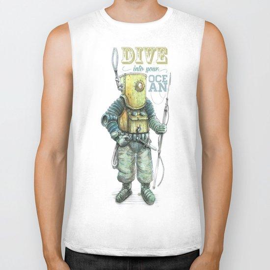 Diver Biker Tank