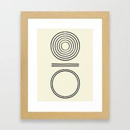 Life Balace II Framed Art Print