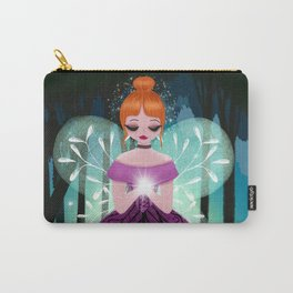 In The Ancient Forest The Woodland Fairy Walks Carry-All Pouch