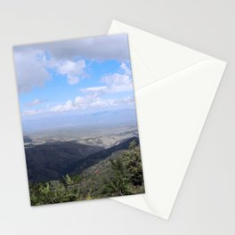 Beautiful View from Mount Lemmon Stationery Cards