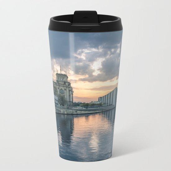 Berlin - West Metal Travel Mug