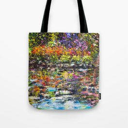 Hidden Peace by Sher Nasser Artist Tote Bag
