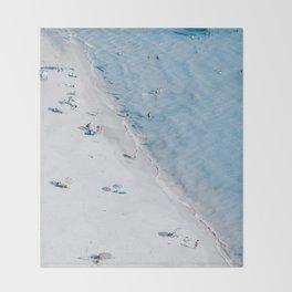 Beach Life 3 Throw Blanket