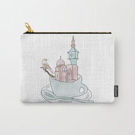 Cairo, Coffee, Birdhouse Carry-All Pouch