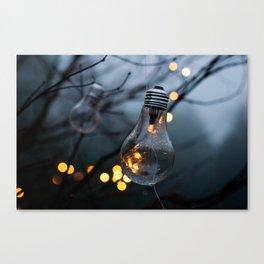 Lightbulbs Canvas Print