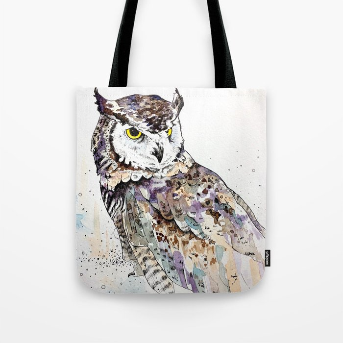 Vancouver Owl Tote Bag By Lizzp