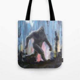 Bigfoot at Twilight Tote Bag