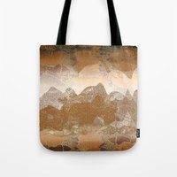 asian Tote Bags featuring Asian background by dominiquelandau