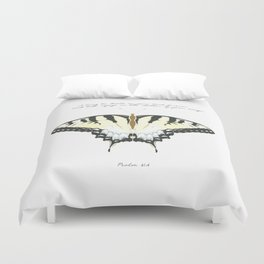 Psalm 61:4 Duvet Cover
