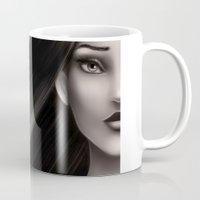 pocahontas Mugs featuring Pocahontas by NikkiBeth