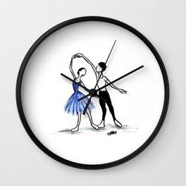 Pas de Deux Wall Clock