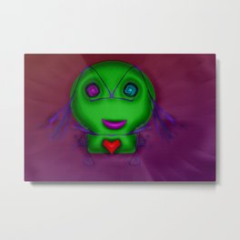 Little minx ... Metal Print