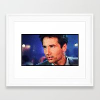 "mulder Framed Art Prints featuring MULDER by ""Neverodd Inks"""