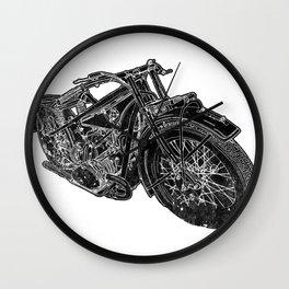 Vintage BMW R32 Motorcycle Redux Wall Clock