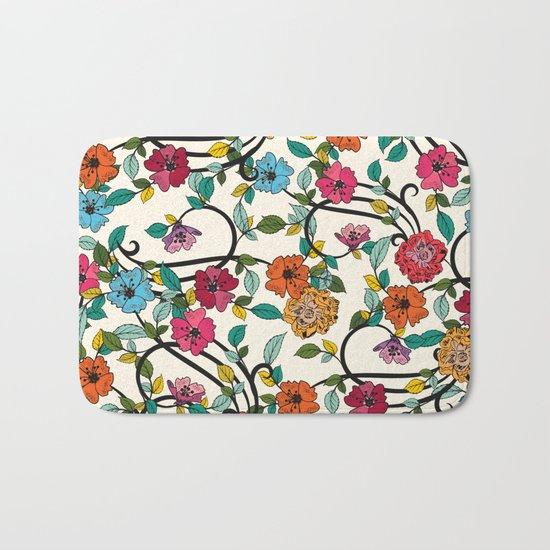 Fleurs Bath Mat