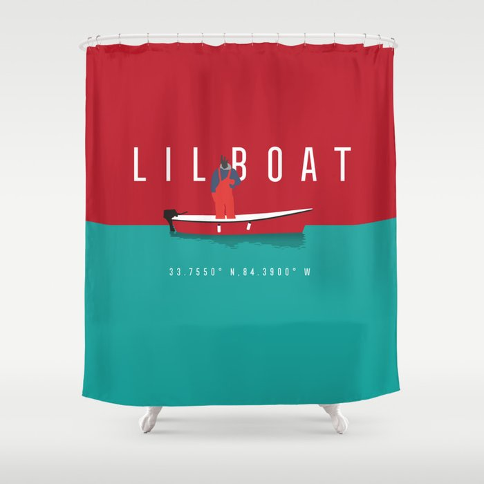 Lil Boat Shower Curtain