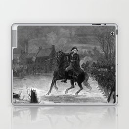 George Washington At The Battle Of Trenton Laptop & iPad Skin