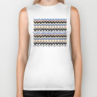 ethnic Biker Tanks featuring Ethnic Color by Louise Machado