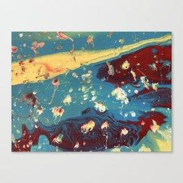 Galactic Rose Canvas Print
