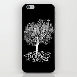 Seattle TreeHouse iPhone Skin