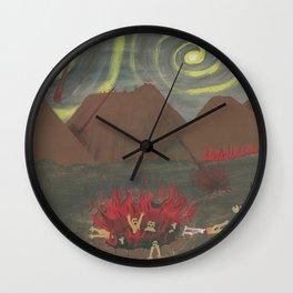 Hell Wall Clock