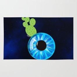 Cactus Eyeball Rug