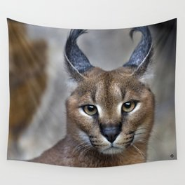 Caracal Wall Tapestry