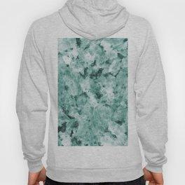 Mint Green Crystal Marble Hoody