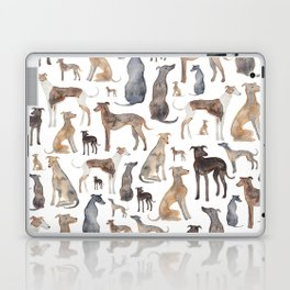 Greyhounds and Whippets Laptop & iPad Skin