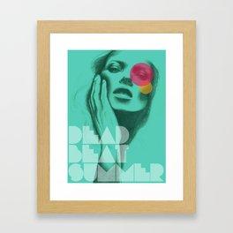 Deadbeat Summer Framed Art Print
