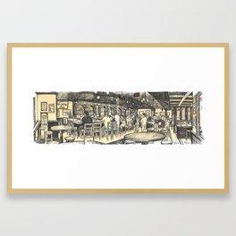 De Vere's, Davis Framed Art Print