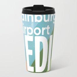 EDI Edinburgh airport code vers2 Travel Mug