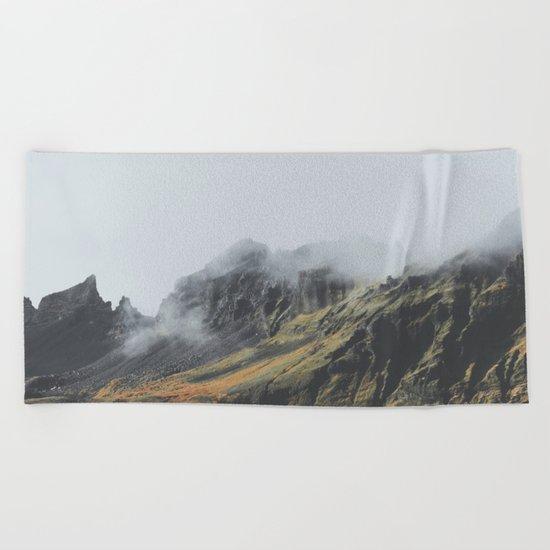 Grundarfjörður, Iceland Beach Towel