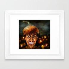 Hello Halloween ! Framed Art Print