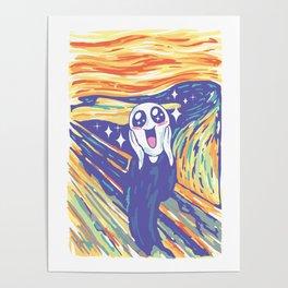 Kawaii Scream Poster