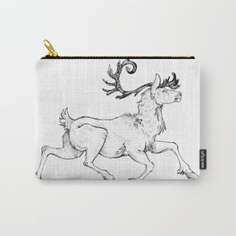 Prancing Caribou Carry-All Pouch