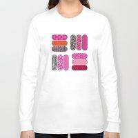 nail polish Long Sleeve T-shirts featuring Nail Files by ts55