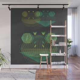 Fusion Frogs Wall Mural