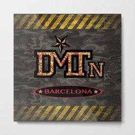 DMTN Barcelona Metal Print