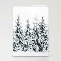 snow Stationery Cards featuring Snow Porn by Tordis Kayma