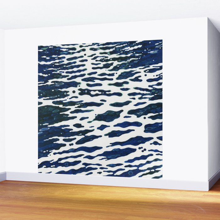Night Ocean Wake Juul Art Wall Mural
