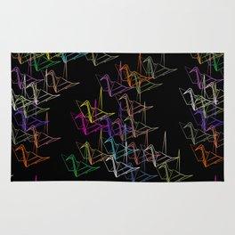 Origami Night Rug