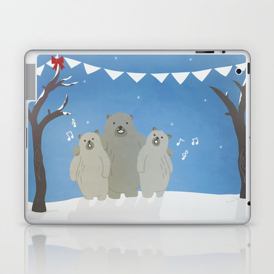 Winter Bears Laptop & iPad Skin
