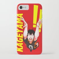 haikyuu iPhone & iPod Cases featuring Haikyuu!! Intense Kageyama!! by f-premaur